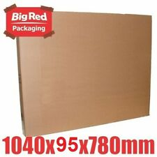 4x Large Picture Frame Moving Box 1040x95x780mm Cardboard Carton Removalist