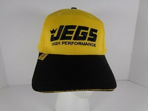 NEW ONE SIZE JEGS HIGH PERFORMANCE HAT W/ADJUSTABLE STRAP STRAPBACK