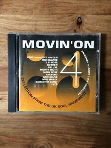 Movin' On  4 - Various Artists (CD 1993) Rumour Records