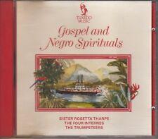 CD ALBUM GOSPEL AND NEGRO SPIRITUALS / SISTER ROSETTA THARPE / FOUR INTERNES