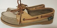 Women's Eastland Boat Shoes 8M Tan 3 tone