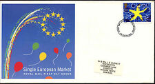 GB FDC 1992 Single European Market, Stevenage FDI #C37312