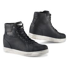 TCX Street Ace Leather Motorcycle Motorbike Waterproof Boots - Black