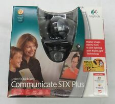 Logitech Quickcam Communicate STX PLUS Webcam Camera w/ Headset in Box