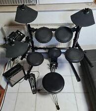 E-Drum Set Fame DD 502-II, komplett mit Verstärker und Hocker, Drumsticks