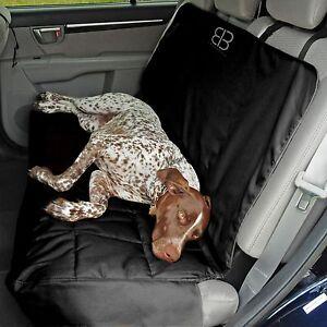 Petego Emanuele Bianchi  Dog Car Auto Pet XL Rear Seat Cover Protector Black