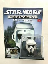STAR WARS DEAGOSTINI REPLICA HELMET COLLECTION ISSUE 7 - SCOUT TROOPER + MAG