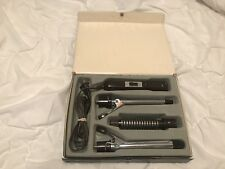 Vintage Vidal Sassoon Interchangeable Curling Iron Brush Set In Case VS125
