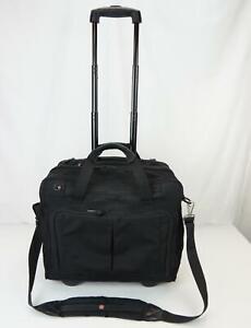 Victorinox Mobilizer Upright Carry On Wheeled Expandable Suitcase Black