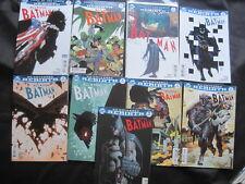 ALL STAR BATMAN issues 1,2,3,4,5,6,7,8,9. DC UNIVERSE REBIRTH 2016 SERIES.SNYDER