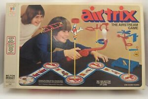 Vintage 1976 Milton Bradley AIR TRIX AIRSTREAM Game 100% Complete & WORKS! USA