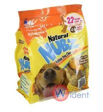 Nylabone Natural NUBZ Edible Dog Treats 2.6lb Real Chicken 22 Large Chews