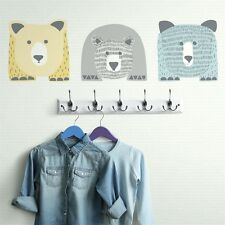 DWELLSTUDIO BEARS GiAnT Wall Decals SCANDINAVIAN Room Decor Stickers Animals NEW