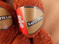 11 1/2 - 50 Gram Balls Schewe Natte Lame Yarn