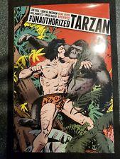 THE UNAUTHORIZED TARZAN SIGNED 1st ED #'d 16AP/25 HC/DJ DARK HORSE,GRAPHIC NOVEL