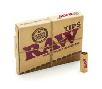 RAW PRE-ROLLED TIPS FILTER TIPS ROACHES PAPER NATURAL ROLLING