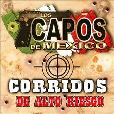 FREE US SH (int'l sh=$0-$3) NEW CD Capos De Mexico: Corridos De Alto Riesgo