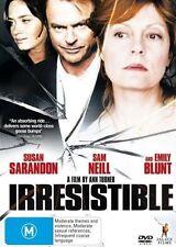 Irresistible (DVD, 2007) SIAN SARANDON SAM NEILL AND EMILY BLUNT NEW R4