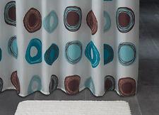 Rideau de douche en tissu cercles Rondo 180x200 cm