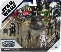 Cara Dune IG-88 5-Pack Star Wars The Mandolorian Mission Fleet 6 cm Figur Hasbro