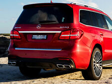 Gls63 AMG Stile DIFFUSORE POSTERIORE SPORT EDITION e Tailpipes MERCEDES X166 GLS AMG