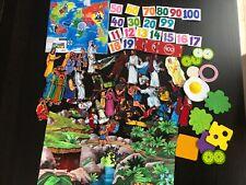 Felt Pieces Board Numbers Food Jesus Religious Nativity World Animals Homeschool