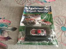 Voiture Miniature Renault Alpine A 110 1600 S Version Echappement 1/43 Eligor