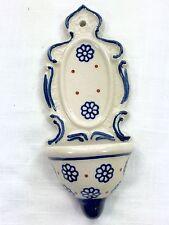 Boleslaweic Pottery Miniature Fountain Wall Hanging Decor Zaklady Ceramiczne