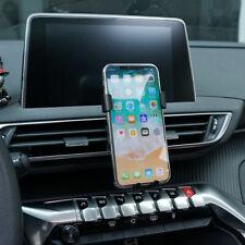 Black Car Mount Adjustable Phone Holder Stand For Peugeot 3008 5008 / GT 16-19