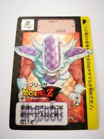 DRAGON BALL Z DBZ GT CARTE CARD HOLO PRISM CARDDASS BANDAI 1991 #272 FREEZER