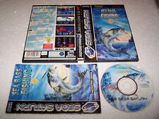 SEA BASS FISHING - Sega Saturn - UK PAL - VG COND - Boxed & Complete