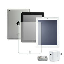 iPad 2/3/4 Black/White Wifi/AT&T/Verizon 16GB/32GB/64GB w/ FREE Screen Protector