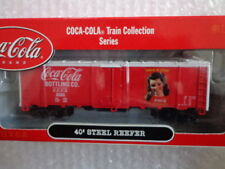 COCA COLA ATHEARN 1/87 SCALE 40' STEEL REEFER CAR #3 OF 6