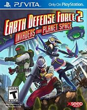 Earth Defense Force 2: Invaders From Planet Space (Sony PlayStation Vita, 2015)