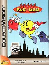SUPER PACMAN for Colecovision / ADAM Cart. NEW / CIB, SUPER GAME MODULE REQ'D