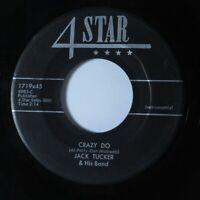 Rockabilly 45 JACK TUCKER Crazy Do 4 STAR HEAR *