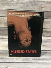 Altered States (DVD, 1998) William Hurt Ken Russell Paddy Chayefsky Snapcase