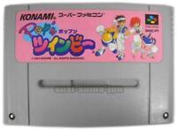 POP'N TWINBEE SFC SNES KONAMI SUPER FAMICOM JAPAN