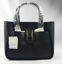 Calvin Klein Leather Tote Handbags