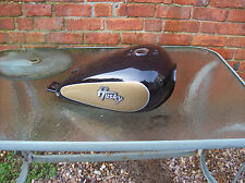 sym huskey 125 custom crusier bobber project petrol fuel tank pear drop shape