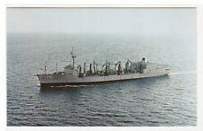 USS Milwaukee AOR-2 Oiler US Navy Ship postcard