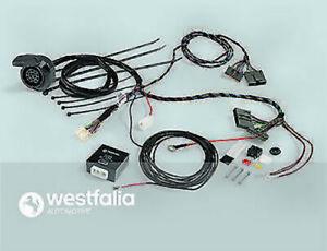 WESTFALIA Elektrosatz, Anhängevorrichtung 321600300113 für SEAT - SKODA - VW