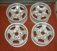 4x Porsche 944, 911 Cookie Cutter 15inch Alloy Wheels Professionally Refurbished