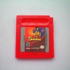 Nintendo Game Boy Color Gbc Cartridge Console Card Shantae English language