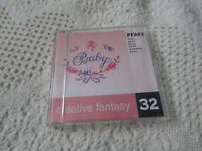 Pfaff Emb Card Creative Fantasy #32 BABY 7570 7560 2140 2170 EXCELLENT Pre Own