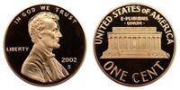 2002-S  Proof Lincoln Cent Nice Coins Priced Right Shipped FREE