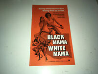 BLACK MAMA WHITE MAMA Movie Pressbook Pam Grier Blaxploitation Sexploitation