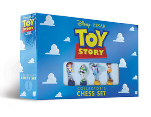 Toy Story Collector's Chess Set  7+ 2 players 60+ minutes