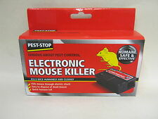 New Pest Stop Electronic Mouse Killer Humane Safe And Effective