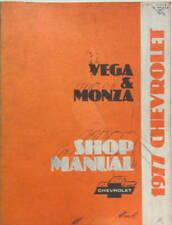 1977 CHEVROLET VEGA - MONZA SHOP MANUAL ORIGINAL  EN ANGLAIS